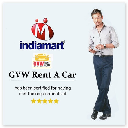 gvw rent a car is varified by IndiaMart