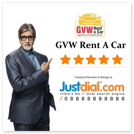 gvw rent a car is varified by justdial