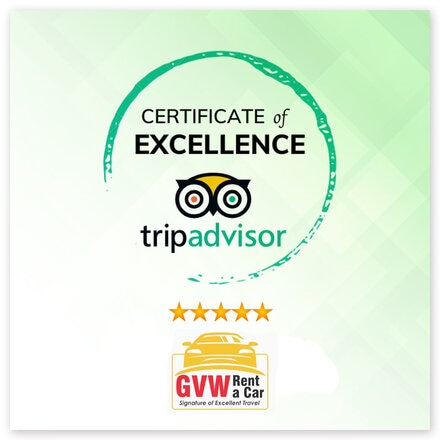 gvw rent a car is varified by tripadvisor