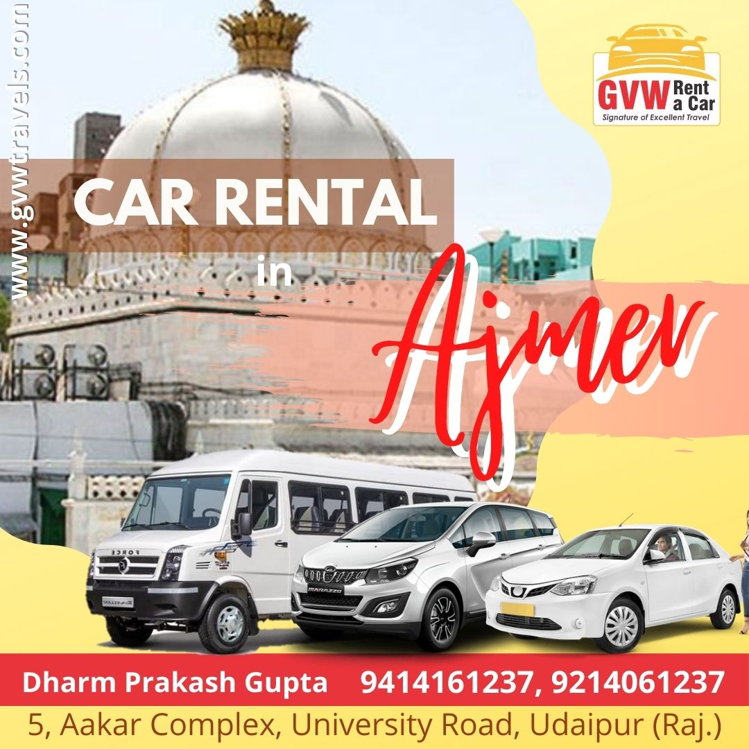 Taxi Cars On Rent In ajmer