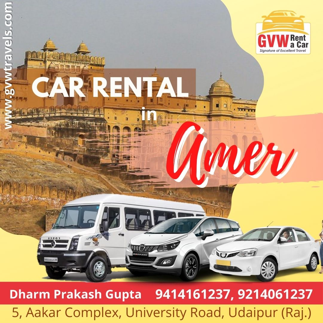 taxi car on rent in amer