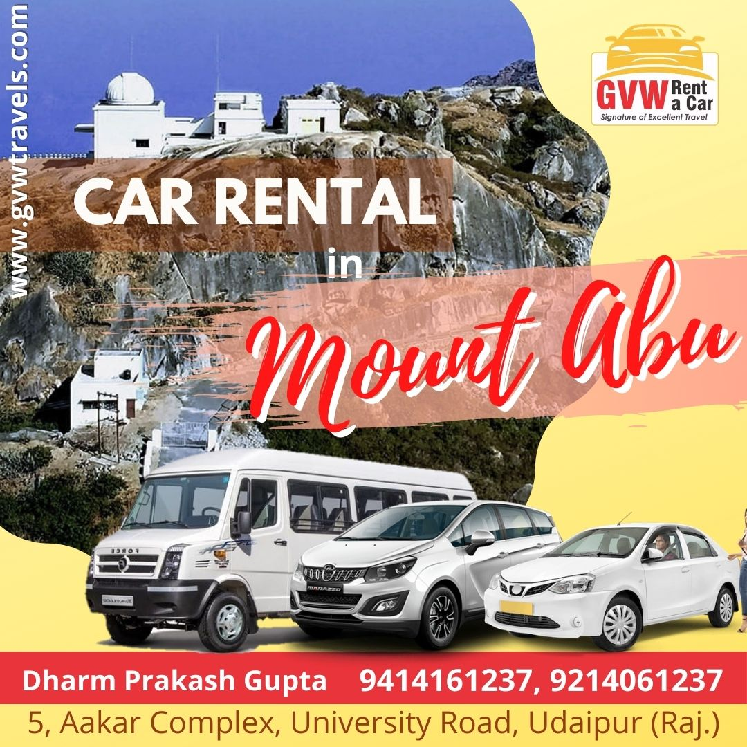 taxi cars on rent in mount abu