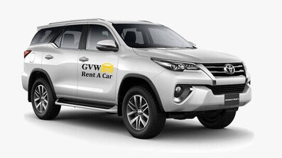 fortuner car fleet of best car rental company