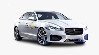 Jaguar car fleet of best car rental company