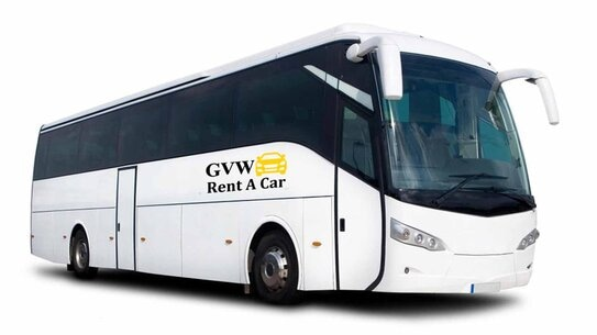 best large coach and buses rental company in udaipur
