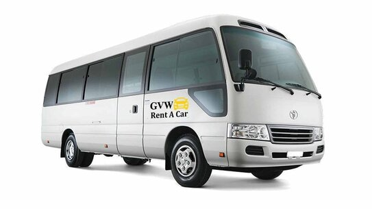best mini coach and small buses rental company in udaipur