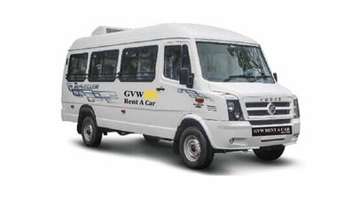 tempo traveller 14+1 fleet of best car rental company