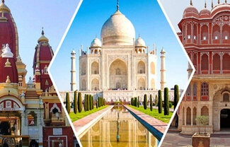 golden triangle tour package by gvw rent a car